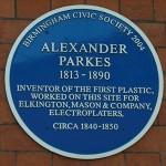 Herdenkingsplaat voor Alexander Parks.