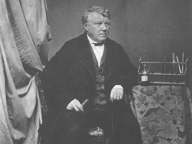 Christian Friedrich Schönbein - beknopte chronologie geschiedenis kunststoffen