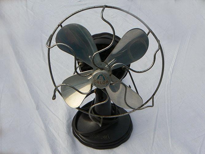 Calor-ventilator uit de collectie van het PolyPlasticum.