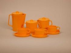 Oranje servies